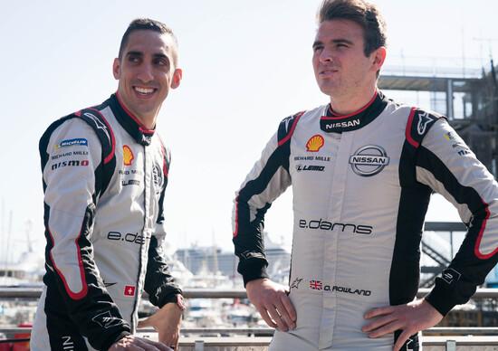 Formula E: Nissan, Buemi e Rowland confermati per la stagione 2019/2020