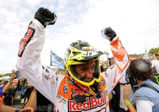 Cairoli conquista il quinto titolo mondiale MX1