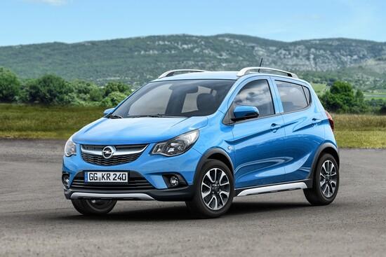 Ecco la Opel Karl Rocks