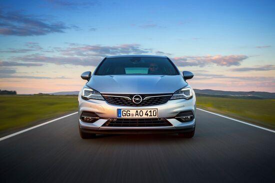 La Opel Astra 2019