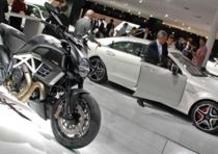 Allo IAA la Ducati Diavel AMG. Prezzo di 25.990 euro