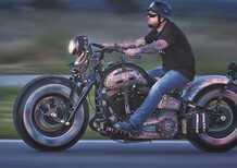 Harley Davidson The Recidivist: niente vernice, solo tattoo