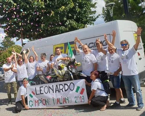Saranno Famosi. Leonardo Tonelli Update: Campione Italiano Motorally!