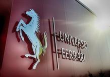 Universo Ferrari, apre a Fiorano l'esposizione dedicata alla Rossa