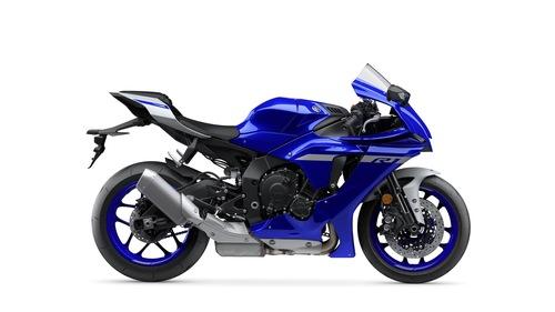 La YZF-R1 in livrea Yamaha Blue DPBMC
