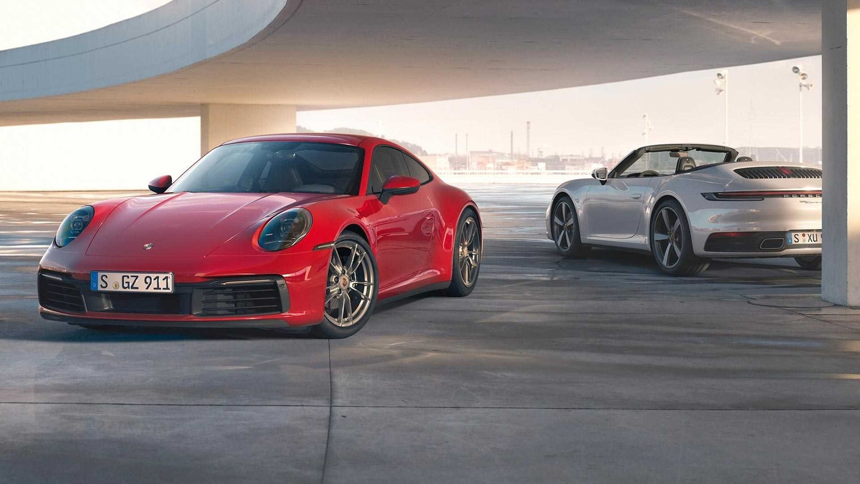 Porsche 911 Carrera 4 al Salone di Francoforte 2019