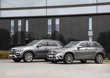 Mercedes GLE 350 de e GLC 300 e al Salone di Francoforte 2019