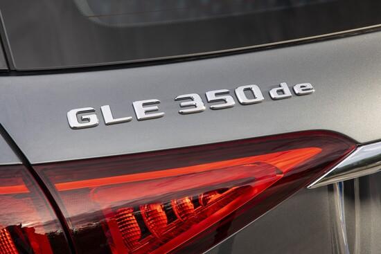 La GLE ibrida plug-in si chiama 350 de