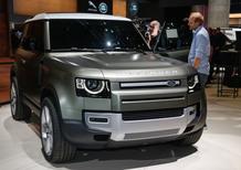 Nuovo Land Rover Defender: il ritorno della leggenda al Salone di Francoforte 2019 [Video]