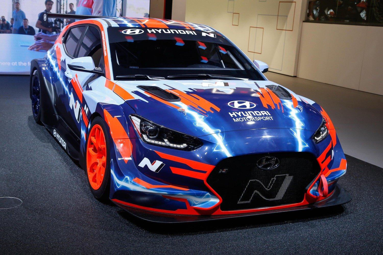 Hyundai Veloster N ETCR, l'elettrica da corsa al Salone di Francoforte 2019