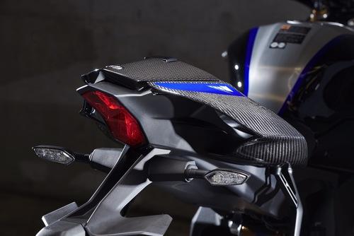 Il nuovo codino, con andamento più filante e aerodinamicamente efficientre