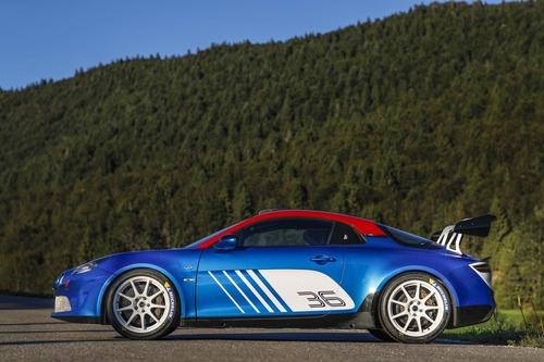 Alpine A110 Rally, 300 CV per correre come ai vecchi tempi (6)