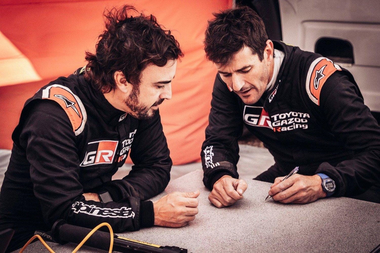"Dakar 2020. Confirmado. Coma-Alonso-Toyota… ma Nani ""Sensacion"" Roma con Borgward!"