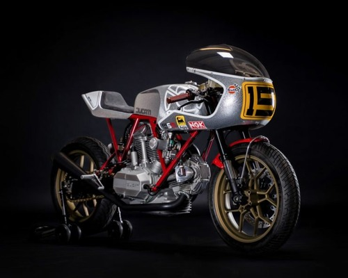 Walt Siegl Bedeveled: special da pista con motore carter quadri Ducati 900 SS