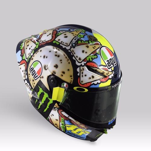 Valentino Rossi: un casco per... mangiarsi Misano (2)