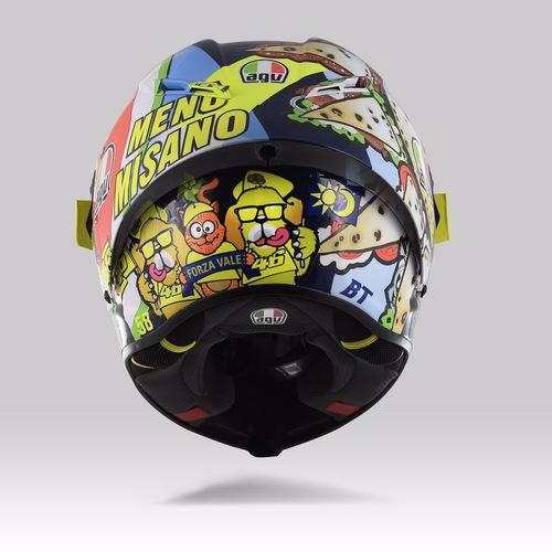 Valentino Rossi: un casco per... mangiarsi Misano (3)