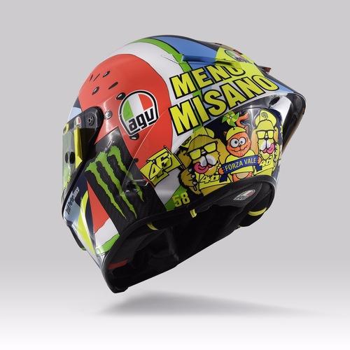 Valentino Rossi: un casco per... mangiarsi Misano (6)