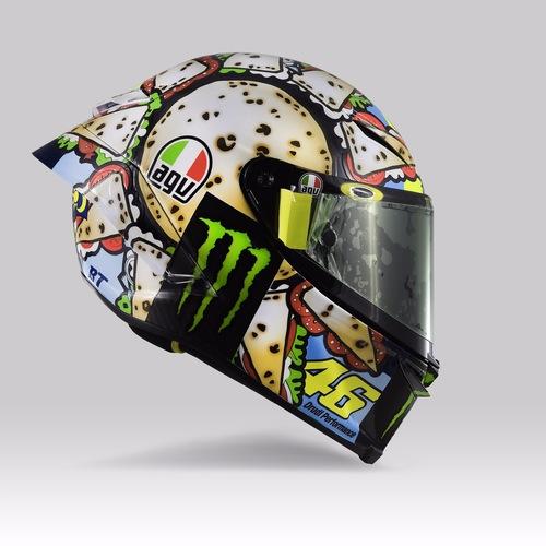 Valentino Rossi: un casco per... mangiarsi Misano (9)