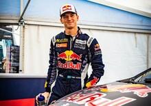 WRX 2019. Lettonia. Timmy Hansen (Peugeot): Il Sorpasso
