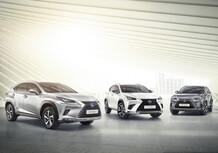 Lexus NX, si aggiorna l'infotainment