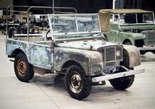 Land Rover: il primo Defender torna su strada, ecco le foto del restauro
