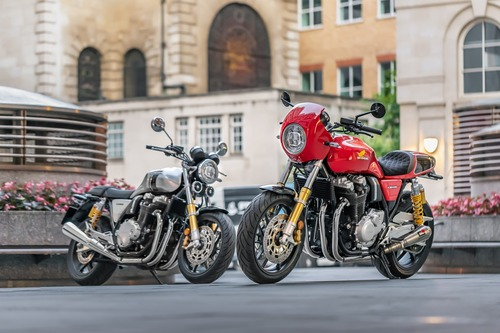 "Honda CB1100 RS ""5Four"". Serie limitata targata UK"