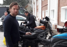 Long Way Up. Le prime foto di Ewan McGregor sulla LiveWire
