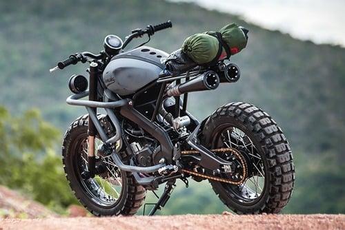 Yamaha XSR155: una scrambler ribelle per la Thailandia (4)