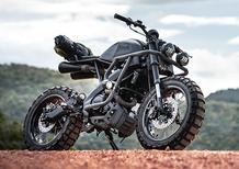 Yamaha XSR155: una scrambler ribelle per la Thailandia
