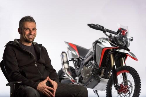Maurizio Carbonara e la sua Africa Twin Enduro Sports Concept
