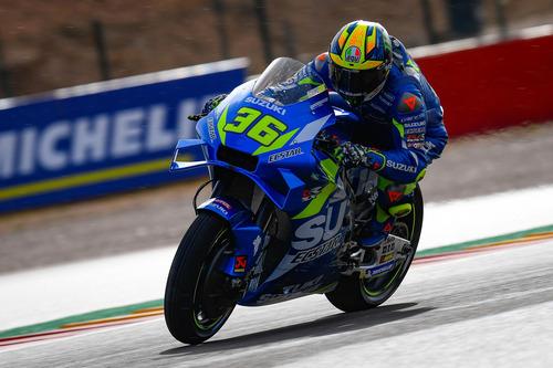 MotoGP 2019. Marc Marquez, pole con brivido ad Aragon (9)