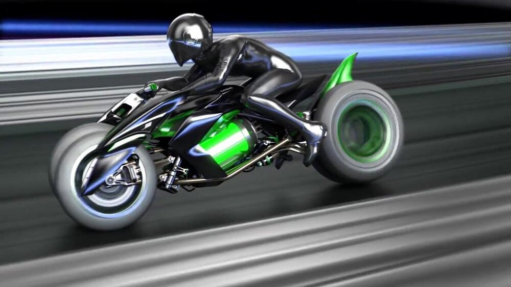 Il Kawasaki  J Electric concept del 2013