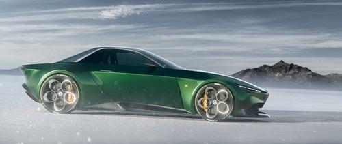Alfa Romeo Junior Zagato, il rendering di una suggestiva coupé (2)