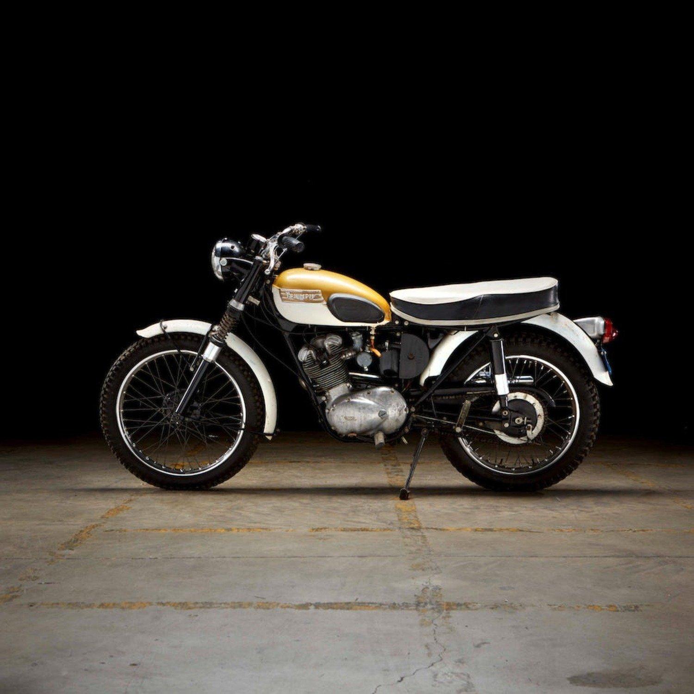 Triumph Mountain Cub: la moto che ha fatto incontrare Steve McQueen e Bruce Brown