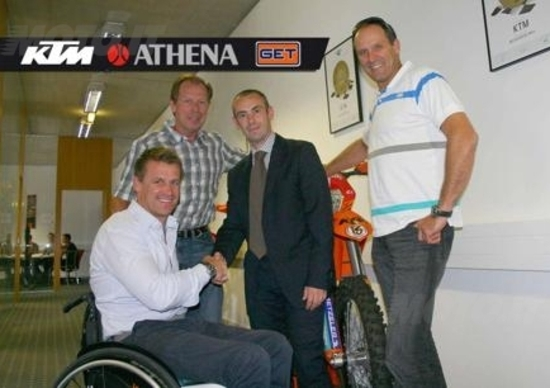 KTM annuncia la partnership con Athena-GET