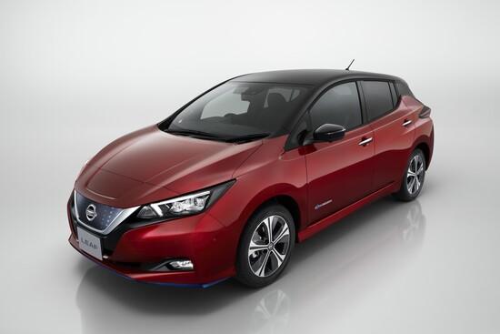 Nissan LEAF e+, più potenza e autonomia