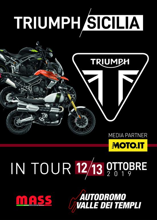 Triumph Sicilia in Tour