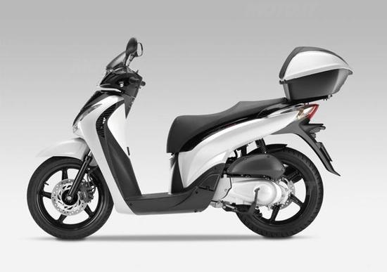 Finanziamento senza interessi per Honda SH 125i, 150i e 300i