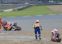MotoGP, Thailandia: caduta di Marquez, niente di rotto