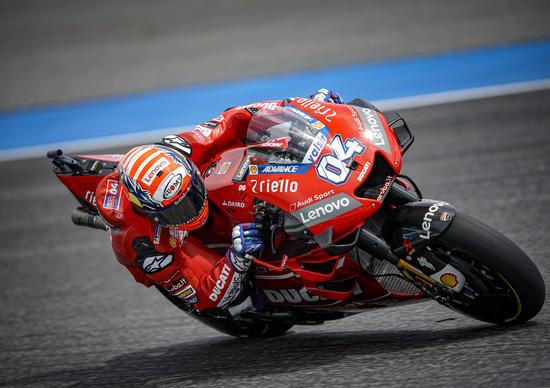 """MotoGP. Andrea Dovizioso: """"In linea con i più veloci"""""""