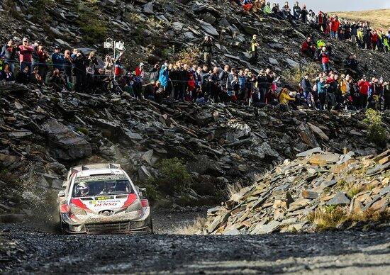 WRC 2019 Galles. Ott Tanak (Toyota) Leader. Finale da Incontri Ravvicinati