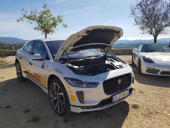 Black Chili Driving Experience 2019 su Route Napoléon e Grand Canyon - Jaguar I-Pace