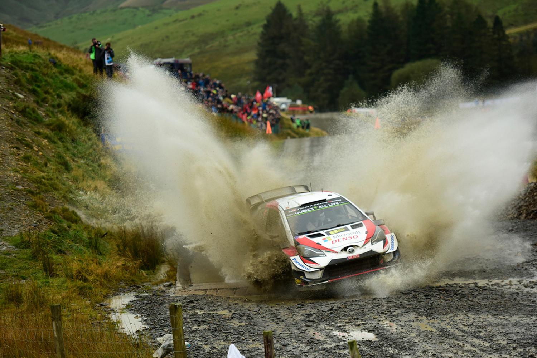 WRC 2019 Galles. Ott Tanak e Toyota Spietati!
