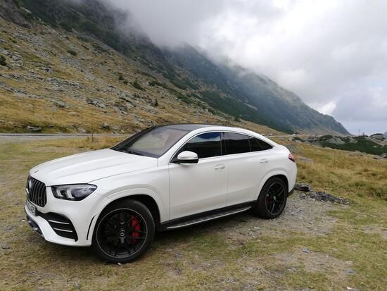 La nuova Mercedes GLE Coupé 2020 in Romania