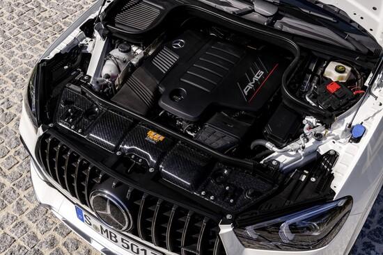 Motore 6 cilindri in linea biturbo per la 53 AMG