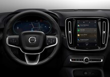 Volvo XC40 elettrica: avrà il nuovo infotainment by Android