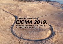 EICMA 2019: BMW svela le novità in diretta Facebook