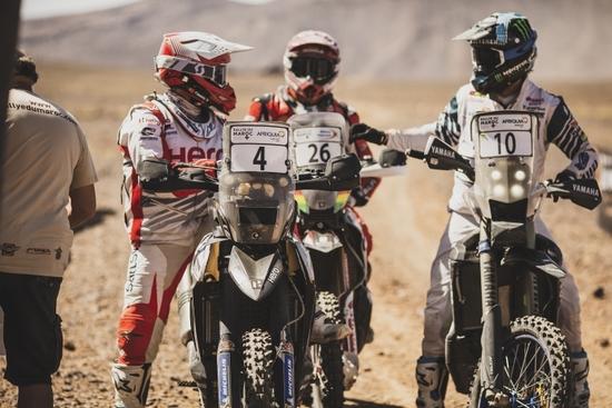 I riders nel rally del Marocco 2019