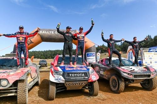 Rally del Marocco. Andy Short per doppietta Husqvarna, Giniel de Villiers per conferma Toyota (3)