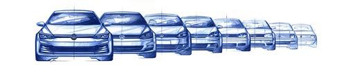 Volkswagen Golf 8: sarà presentata il 24 ottobre. I primi bozzetti ufficiali (3)